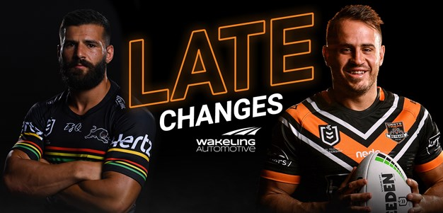 NRL Late Changes: Round 4