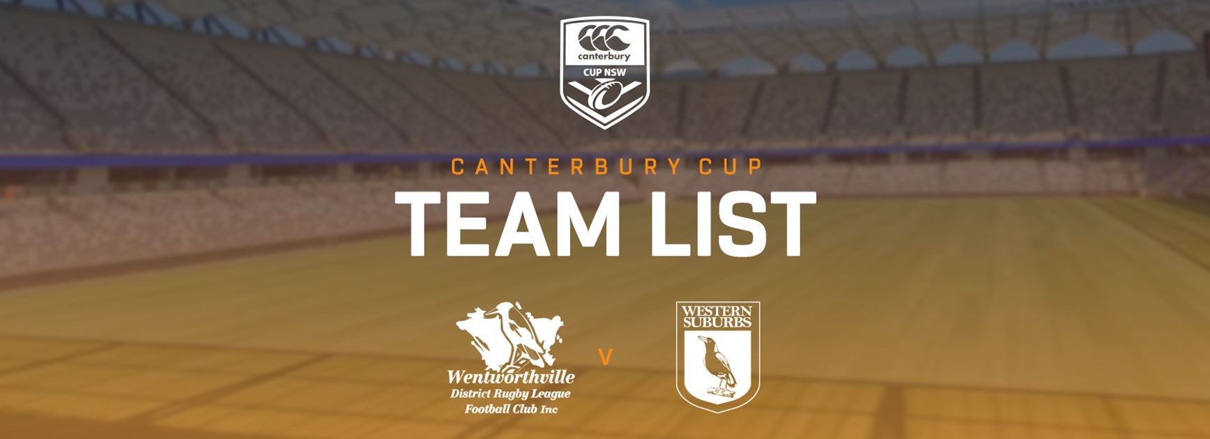 Canterbury Cup Team Announcement: Round 6