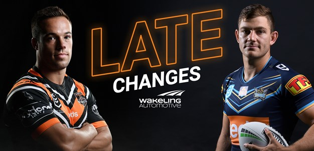 NRL Late Changes: Round 7