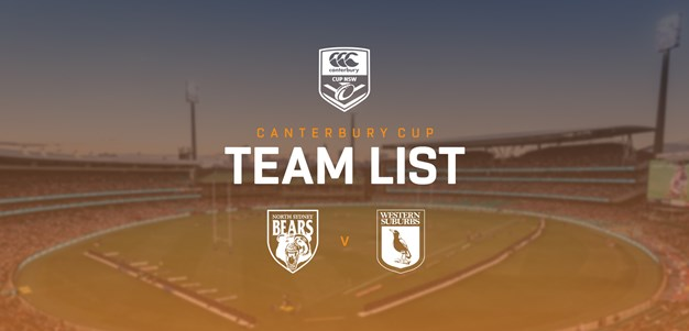 Canterbury Cup Team Announcement: Round 8