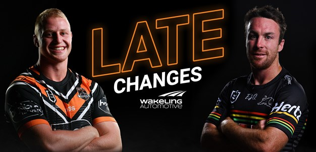 NRL Late Changes: Round 9