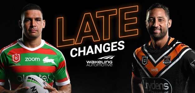 NRL Late Changes: Round 11