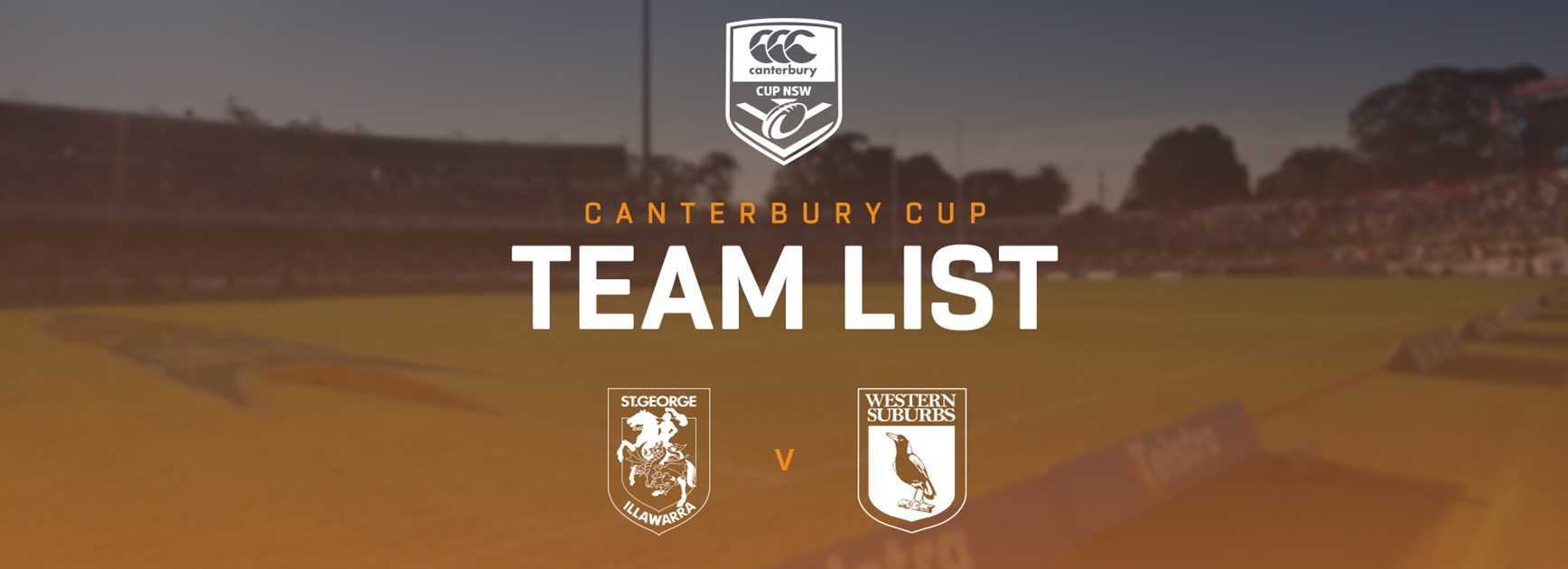 Canterbury Cup Team Announcement: Round 12