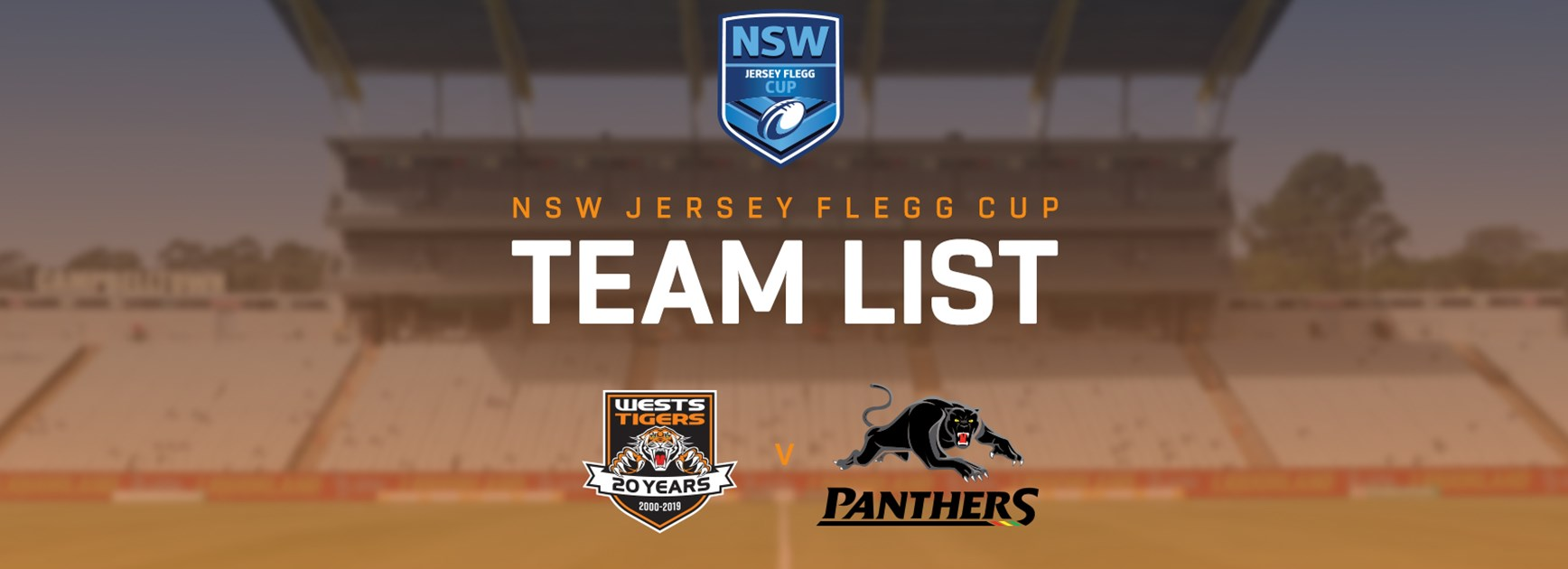 Jersey Flegg Team Announcement: Round 15