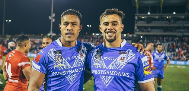 Wests Tigers trio named for Samoa