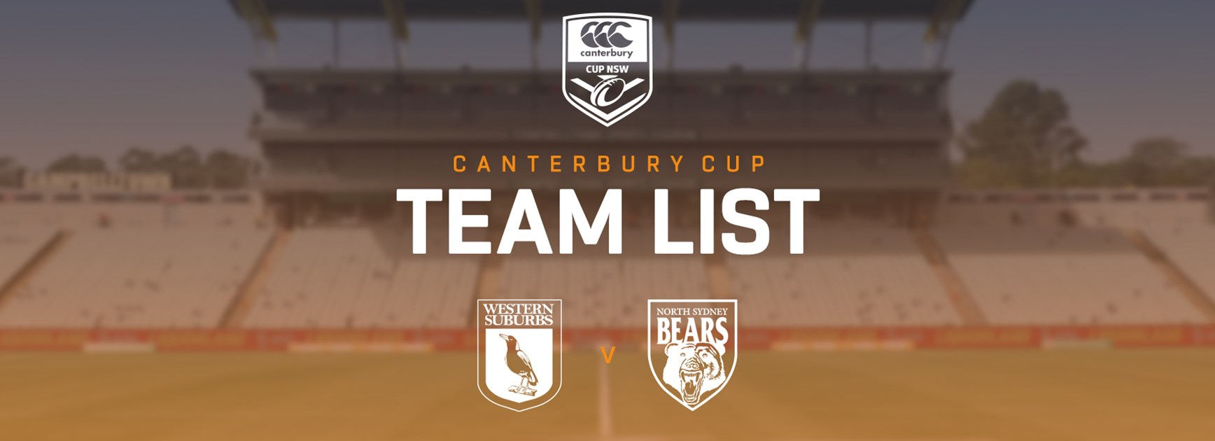 Canterbury Cup Team Announcement: Round 16
