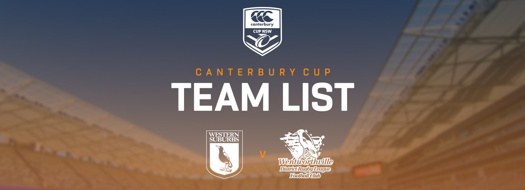Canterbury Cup Team Announcement: Round 17
