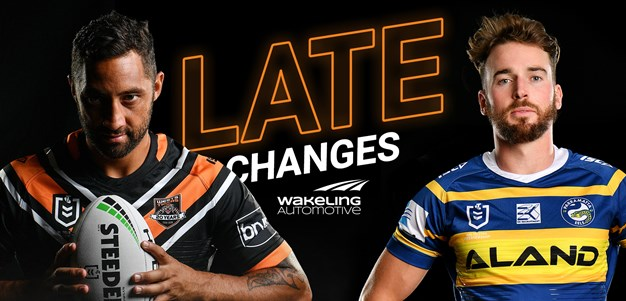 NRL Late Changes: Round 17