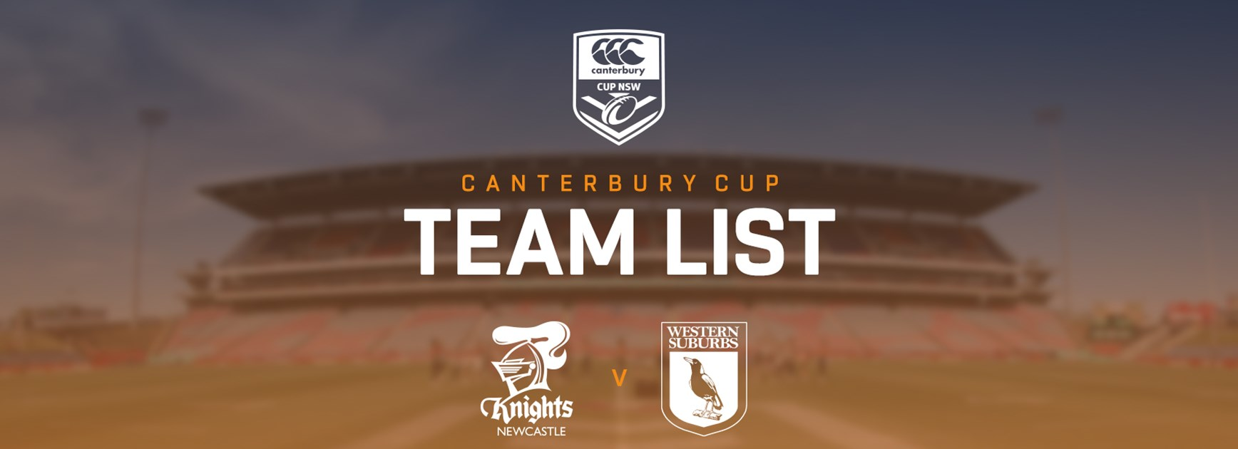 Canterbury Cup Team Announcement: Round 19