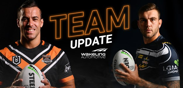 NRL Team Update: Round 20