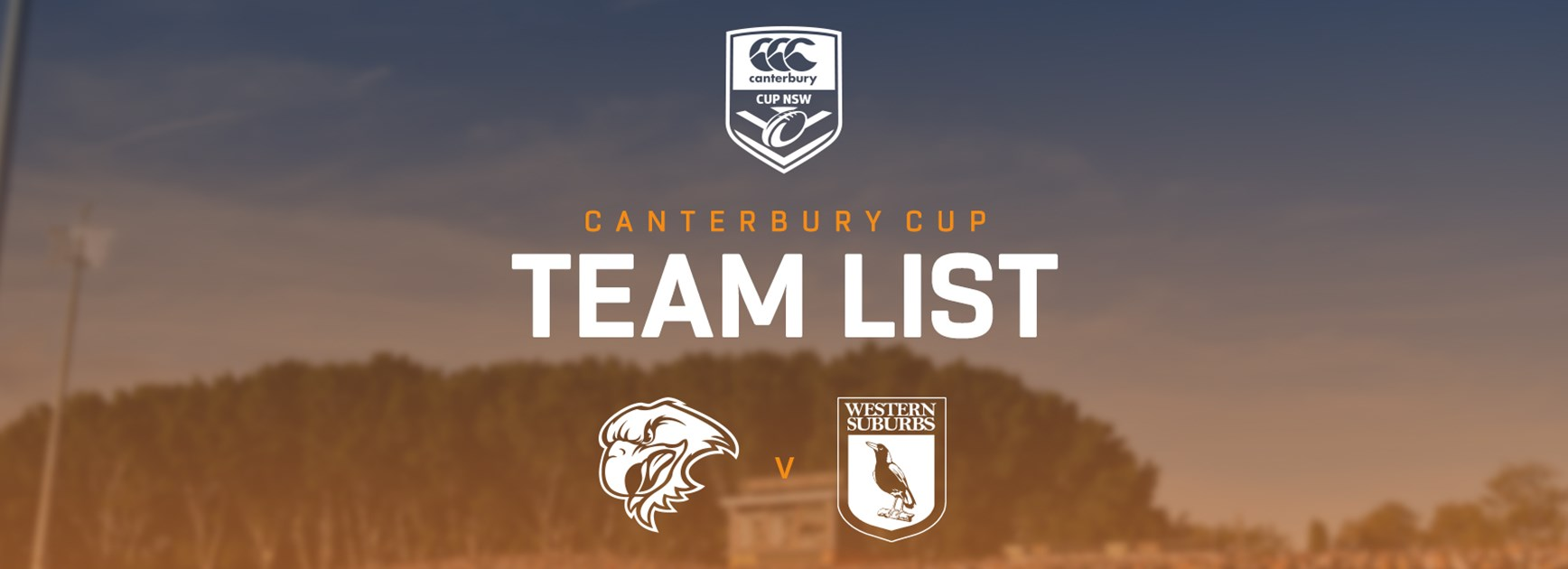 Canterbury Cup Team Announcement: Round 21