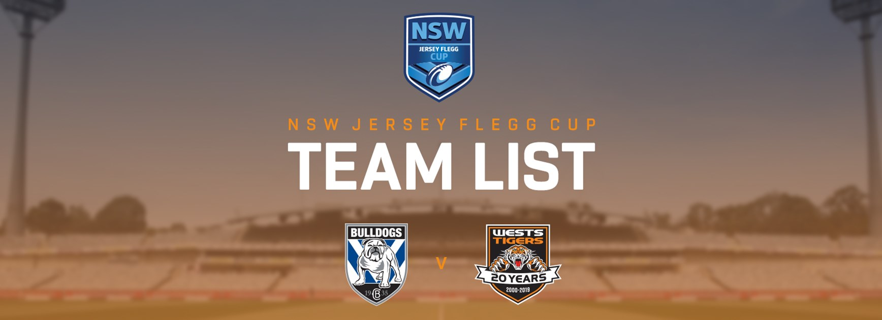 Jersey Flegg Team Announcement: Round 21