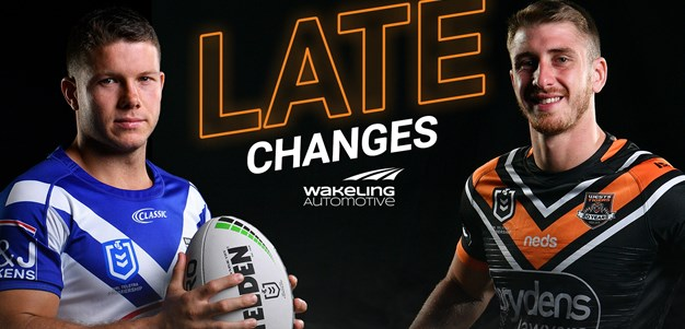 NRL Late Changes: Round 21