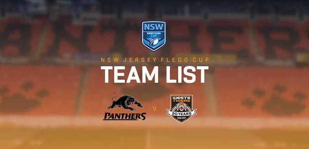 Jersey Flegg Team Announcement: Round 22