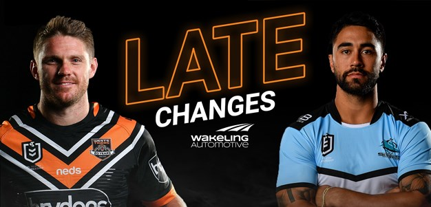 NRL Late Changes: Round 25