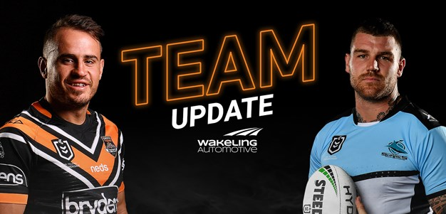 NRL Team Update: Round 25