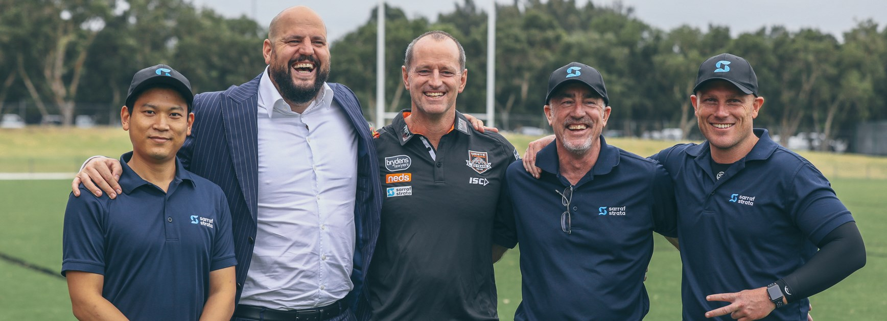 Sarraf Strata and PRPTY 360 join Wests Tigers