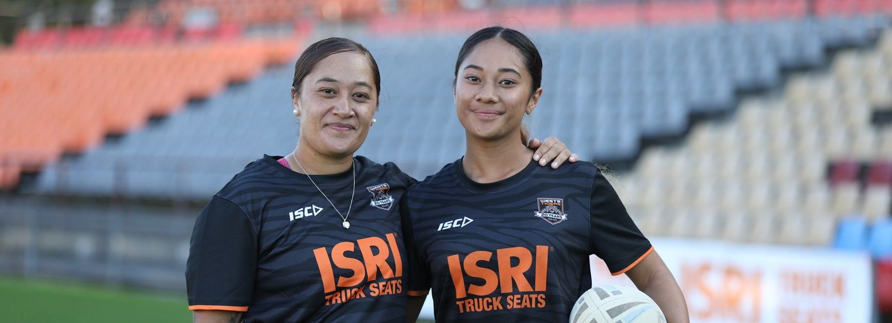The mother-daughter duo breaking new ground at Wests Tigers