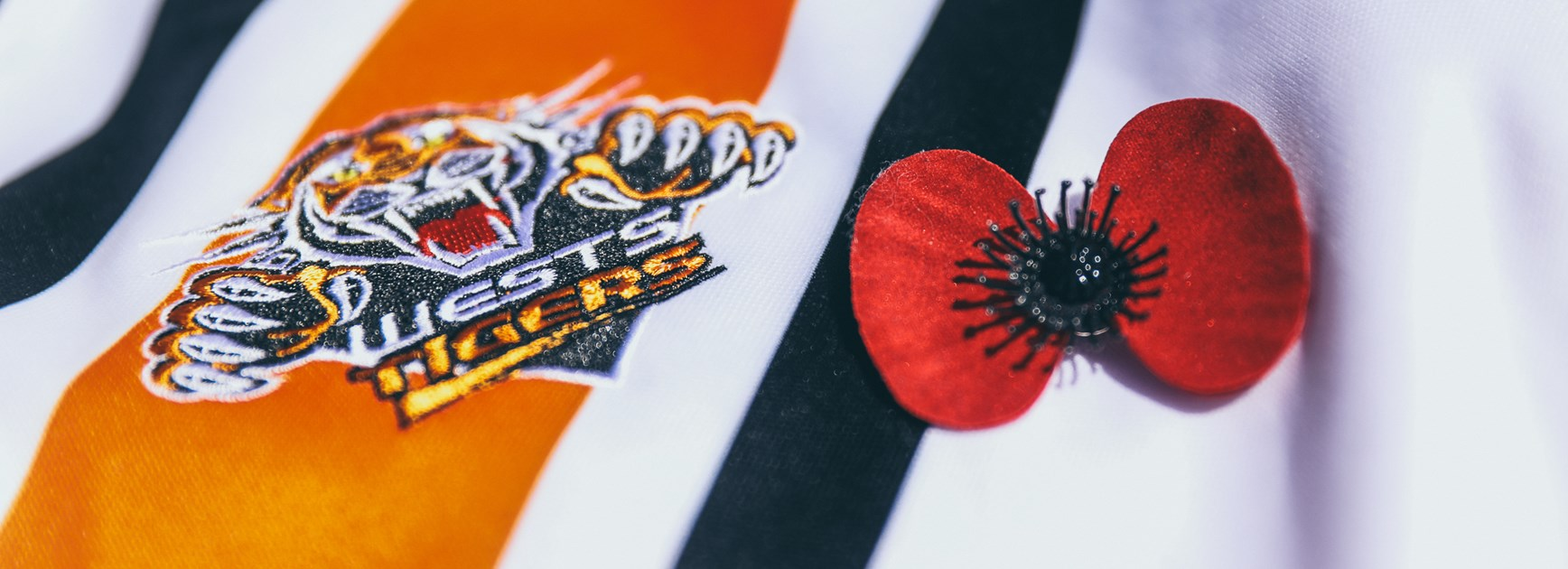 Wests Tigers support 2019 Poppy Appeal