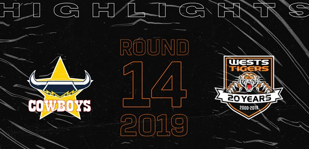 2019 Match Highlights: Rd.14, Cowboys vs. Wests Tigers