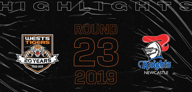 2019 Match Highlights: Rd.23, Wests Tigers vs. Knights