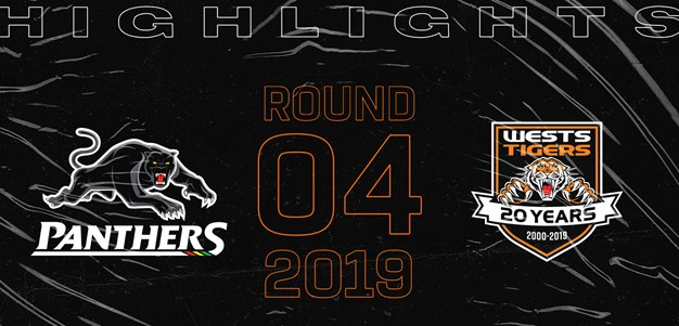 2019 Match Highlights: Rd.4, Panthers vs. Wests Tigers