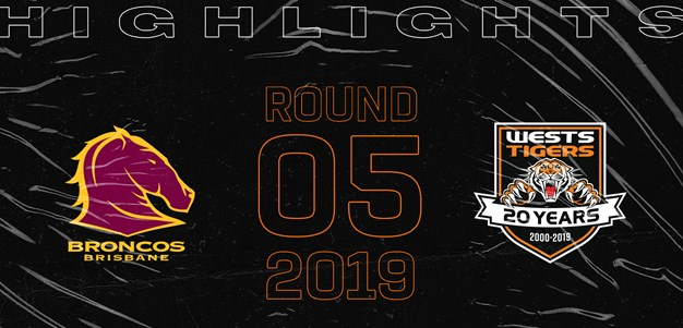 2019 Match Highlights: Rd.5, Broncos vs. Wests Tigers