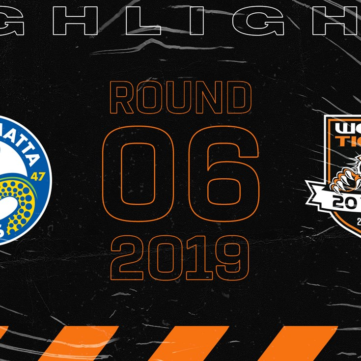 2019 Match Highlights: Rd.6, Eels vs. Wests Tigers