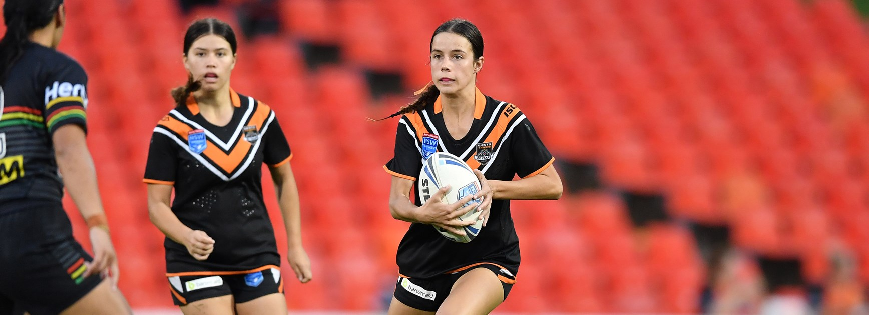 Wests Tigers 2019 Junior Representative Award Winners