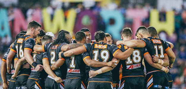 Fonua fires as Wests Tigers charge home to topple Titans