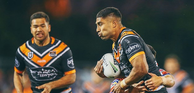 Jennings extends Wests Tigers lead off Brooks bomb
