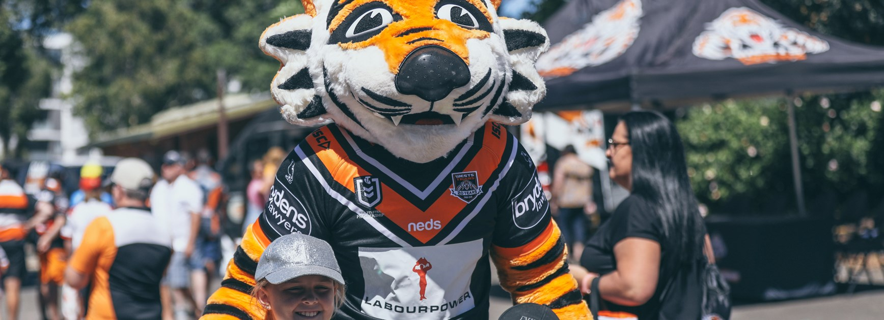 Labourpower join Wests Tigers as Mascot Partner