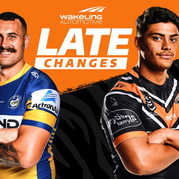 NRL Late Changes: Round 20