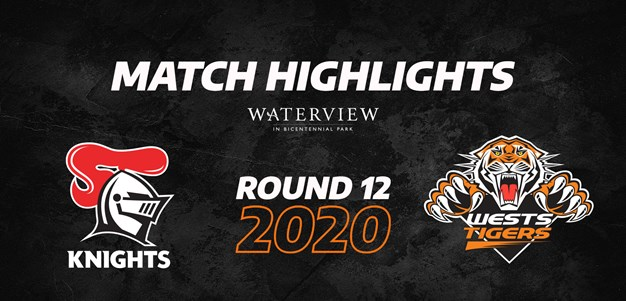 2020 Match Highlights: Rd.13, Knights vs. Wests Tigers