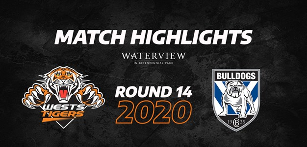 2020 Match Highlights: Rd.14, Wests Tigers vs. Bulldogs