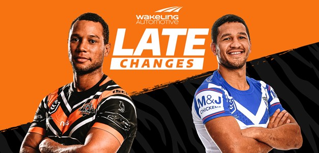 NRL Late Changes: Round 14