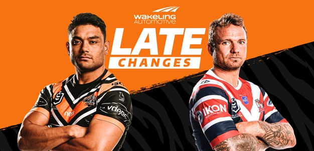 NRL Late Changes: Round 15