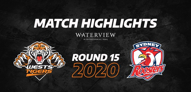 2020 Match Highlights: Rd.15, Wests Tigers vs. Roosters