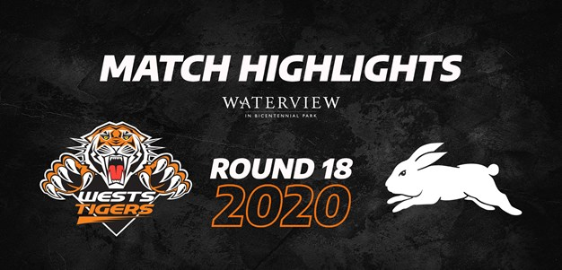 2020 Match Highlights: Rd.18, Wests Tigers vs. Rabbitohs