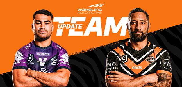 NRL Team Update: Round 19