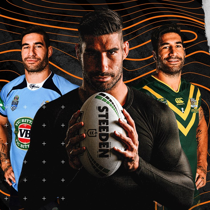 Wests Tigers sign James Tamou