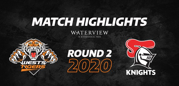 2020 Match Highlights: Rd.2, Wests Tigers vs. Knights