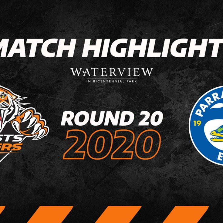 2020 Match Highlights: Rd.20, Wests Tigers vs. Eels