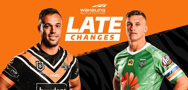 NRL Late Changes: Round 5
