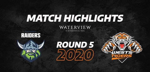 2020 Match Highlights: Rd.5, Wests Tigers vs. Raiders