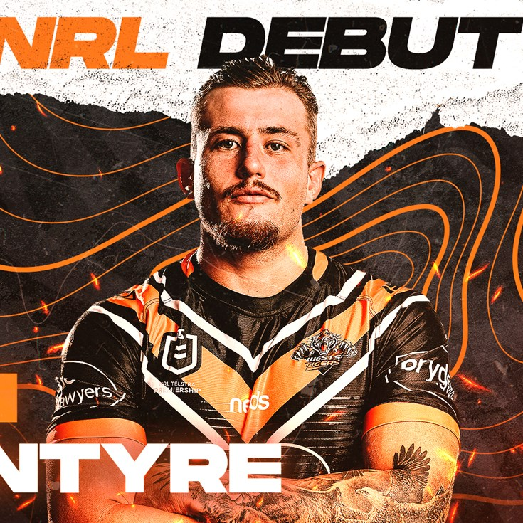 Sam McIntyre to make NRL debut