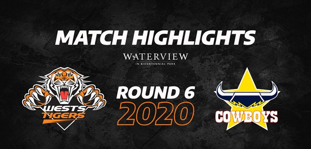2020 Match Highlights: Rd.6, Wests Tigers vs. Cowboys