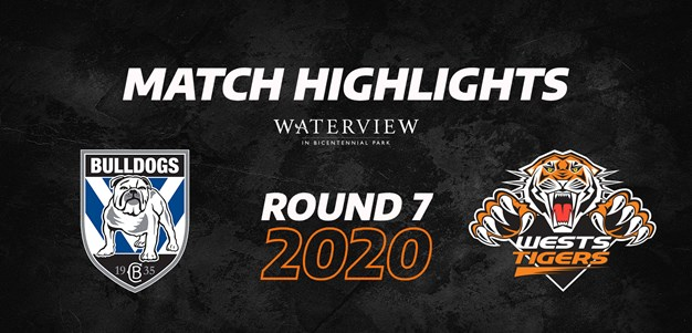 2020 Match Highlights: Rd.7, Bulldogs vs. Wests Tigers