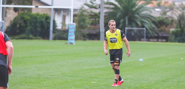 Liddle relishing return to action