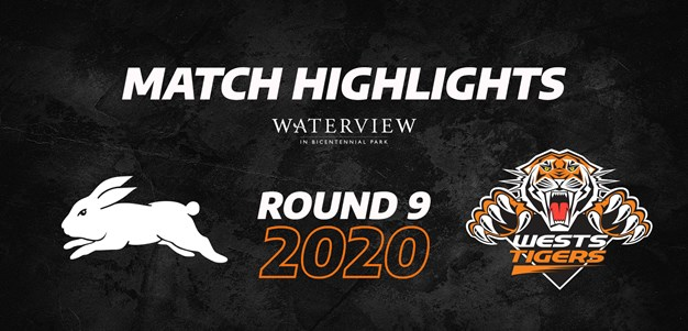 2020 Match Highlights: Rd.9, Rabbitohs vs. Wests Tigers